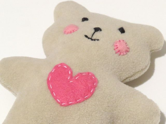 HOW TO SEW QUICKLY A LOVABLE LITTLE SOFT BABY TEDDY BEAR :http ...