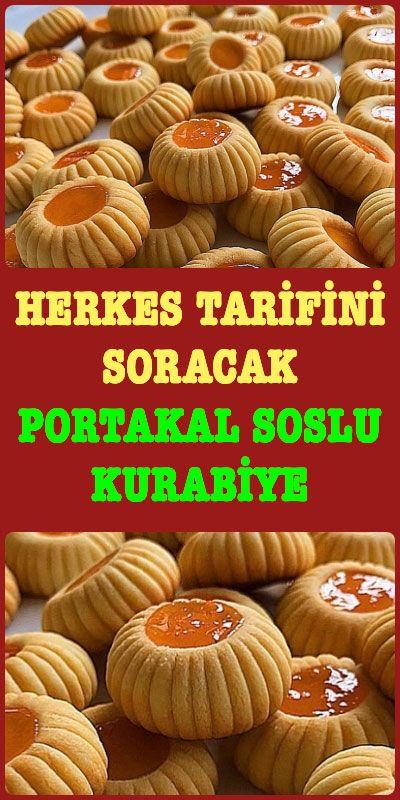 Photo of Portakal Soslu Un Kurabiyesi Tarifi