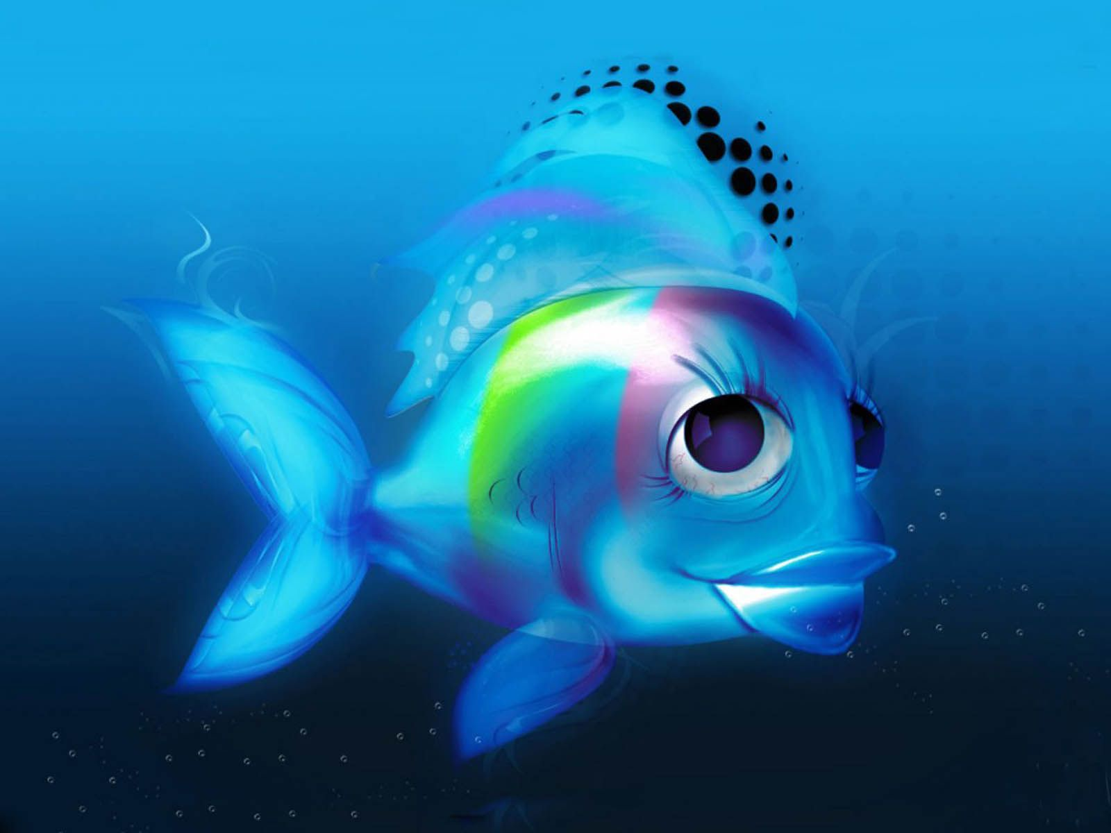Wallpapers 3d Fish Wallpapers Fish Wallpaper Cartoon Fish Free Animated Wallpaper