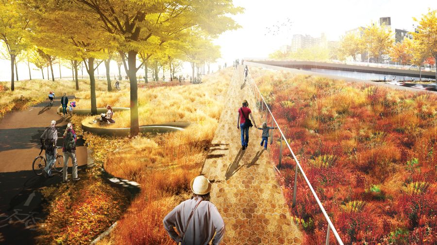 "The BIG U: BIG's New York City Vision for ""Rebuild by Design"""