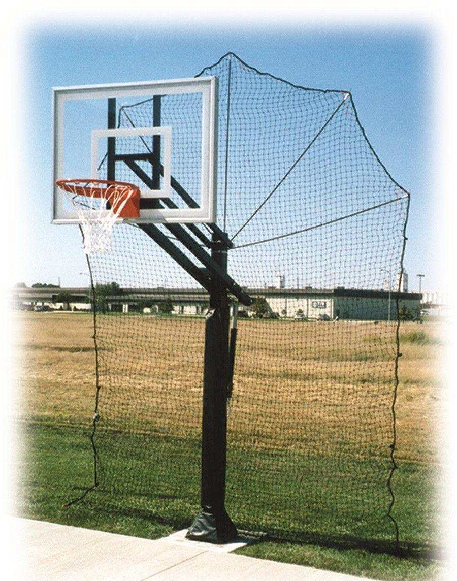 First Team Defender Basketball Retention Net Backyard Basketball Basketball Court Backyard Outdoor Basketball Court
