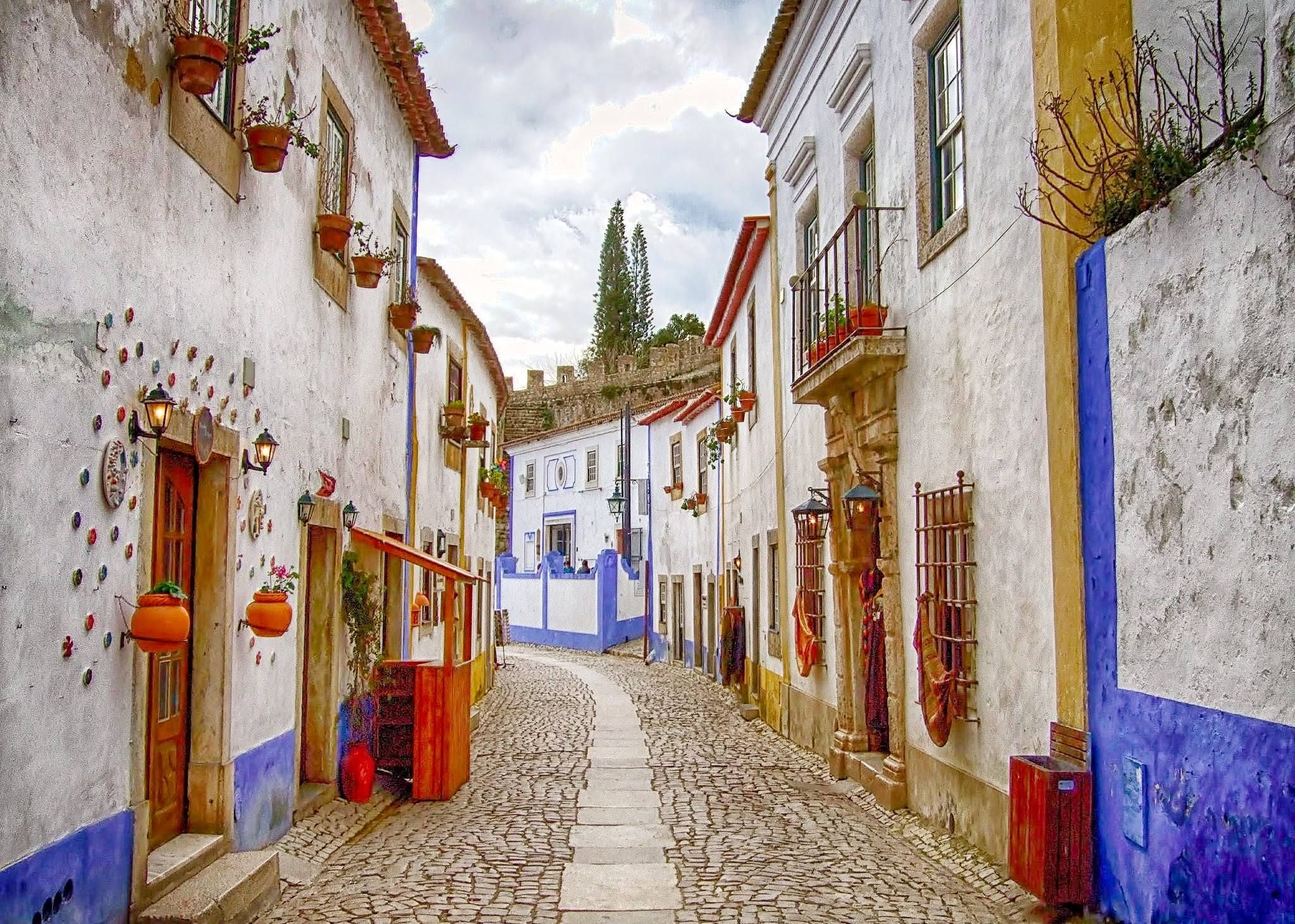 Bidos One Of The Mot Beautiful Portuguese Villages Our Trip To Pousadas Portugal Touring Unlimited Estrelas