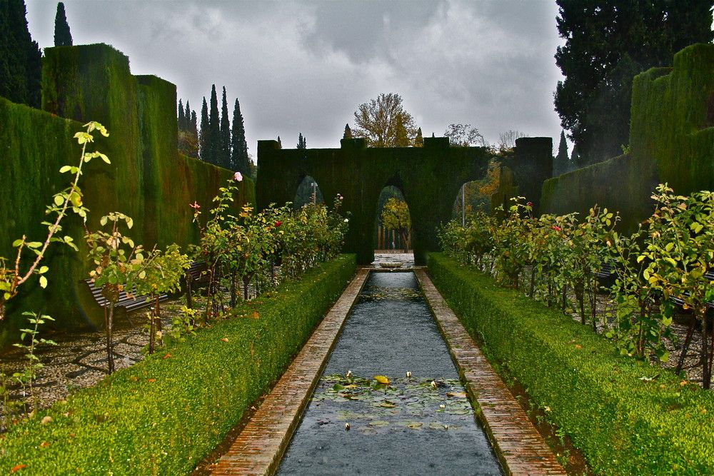 Jardines del generalife alhambra granada a22892331 paisajismo para ppt pinterest granadas - Residencia los jardines granada ...