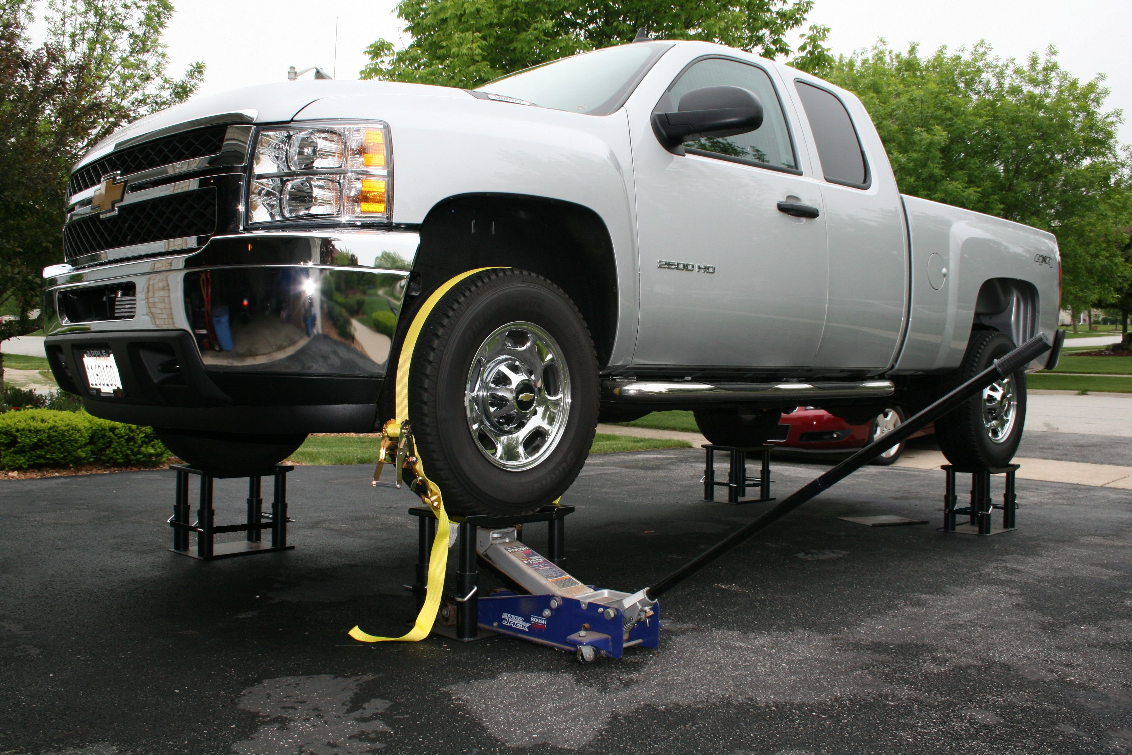 Holy alternative to Jack Stands  - Bob Is The Oil Guy | Car Wheel