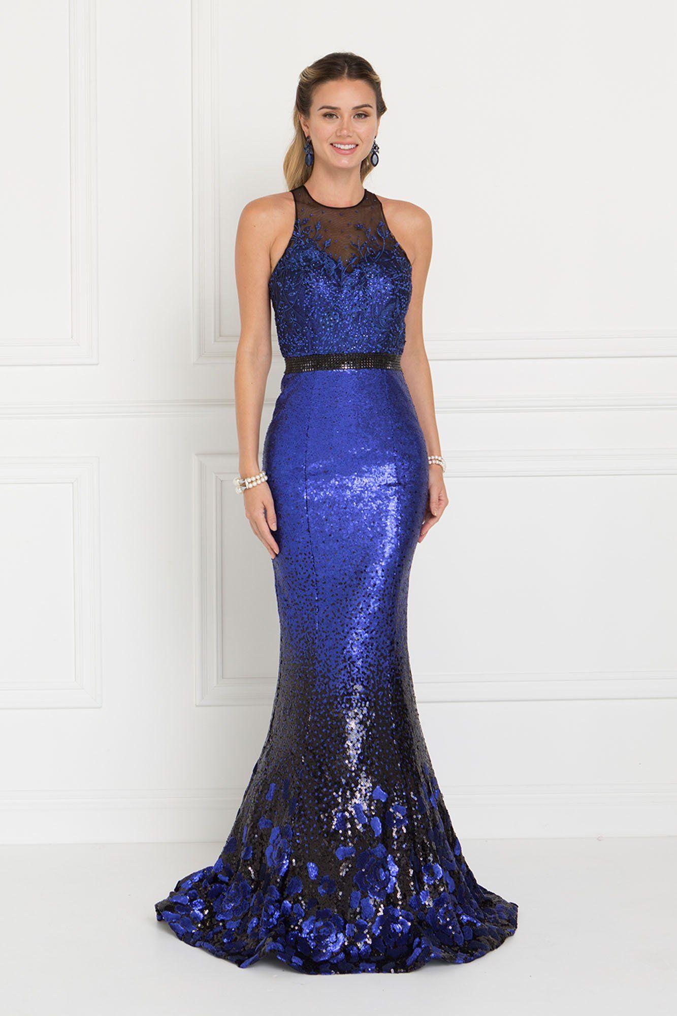 Mermaid sequins prom dress gls steal the look pinterest