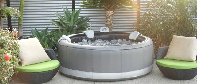 Aufblasbarer whirlpool mspa castello m-112s kaufen? ab u20ac 649 - pool garten aufblasbar