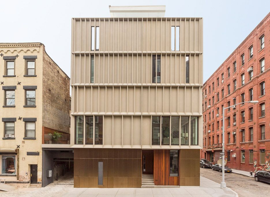 Dumbo Townhouses By Alloy In Brooklyn Architecture Bois