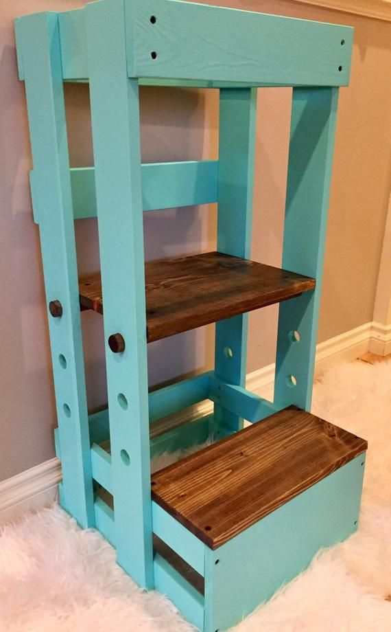 Adjustable Step Learning Tower Learning Tower Learning Tower Diy Toddler Kitchen Stool
