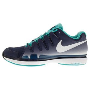 Speed up your game in the new Men s Nike Zoom Vapor 9.5 Tour Tennis Shoes.  Nike designed this shoe with speed in mind to give you a responsive fit a5a890a7368b