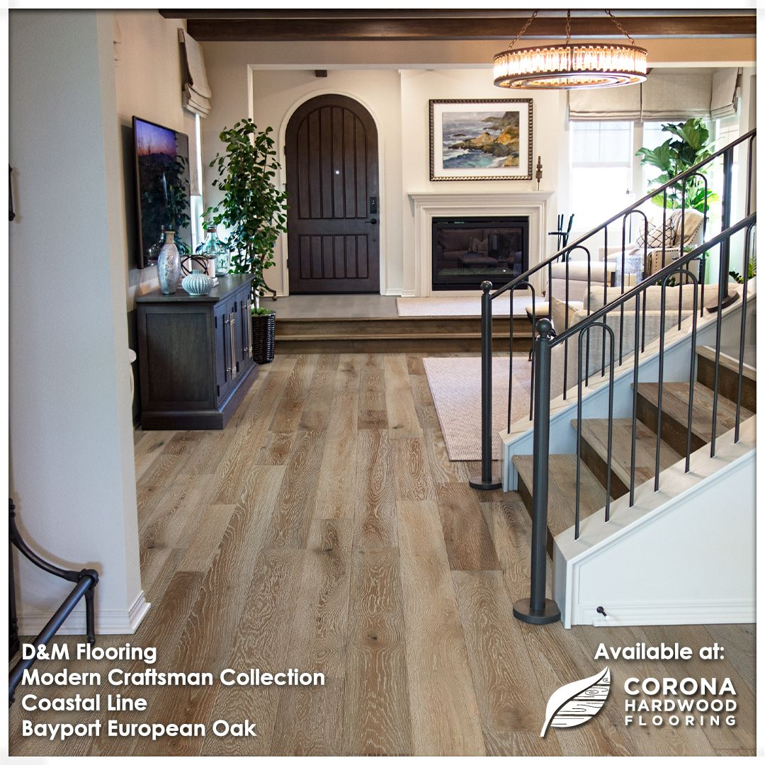 A Powerful Range Of Natural Colors The Modern Craftsman Collection Has A Little Something For Everyone Out The In 2020 Modern Craftsman Oak Planks Engineered Flooring