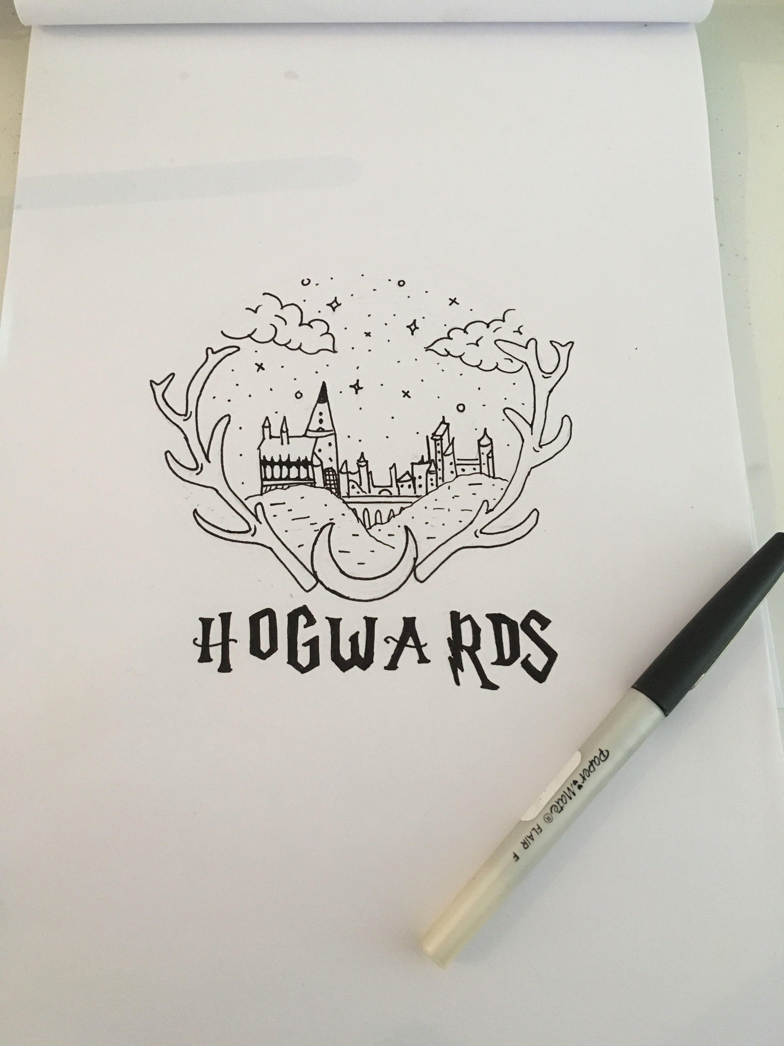 Hogwards Ideias Para Desenho Desenhos Harry Potter E