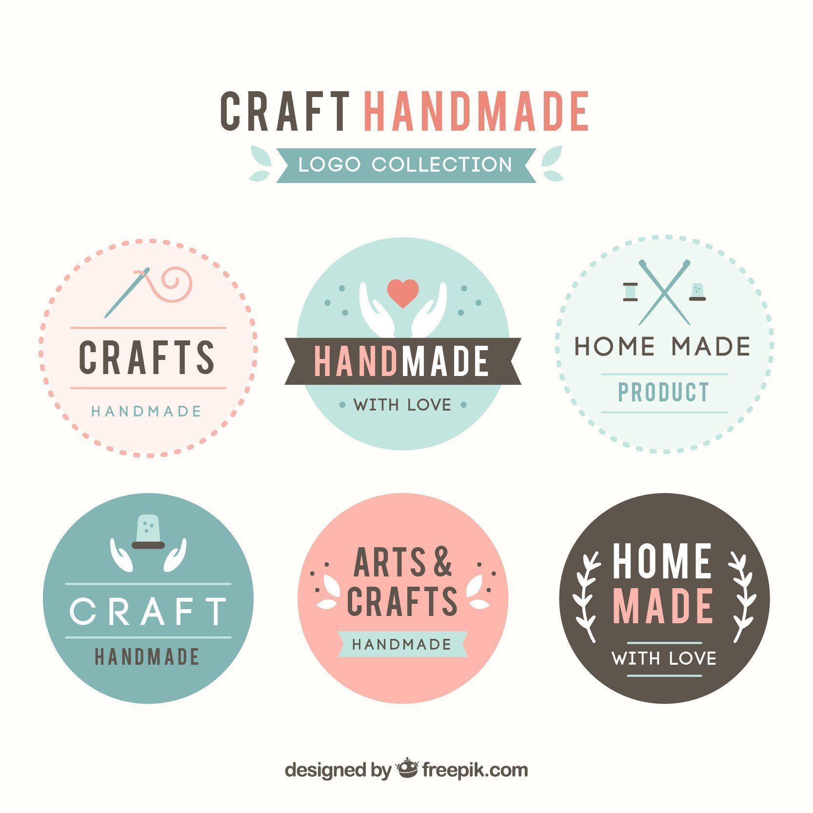 I'm offering a discount! Craft logo, Handmade logo