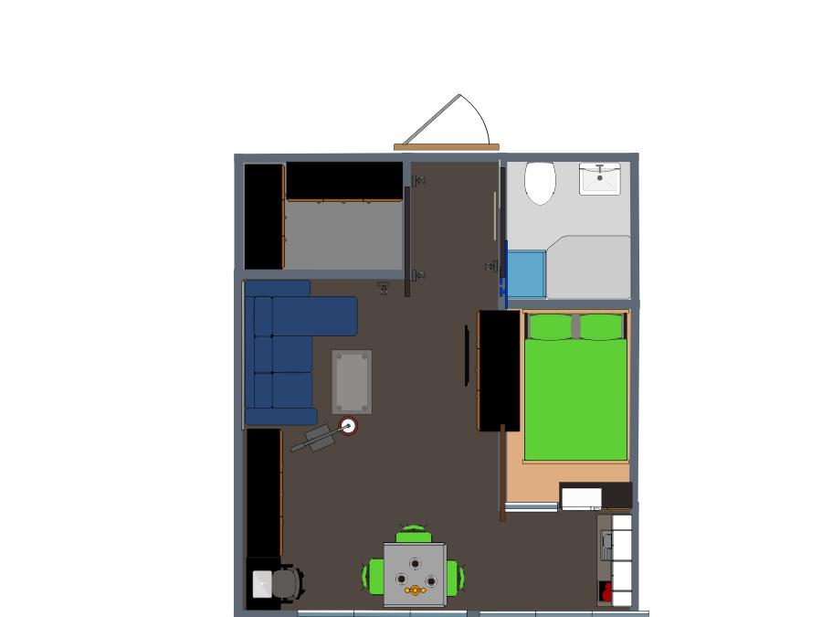 Depa noruego remaxterizado 29 mts planner 5d mini depa for Diseno de apartamento de 4x8 mts