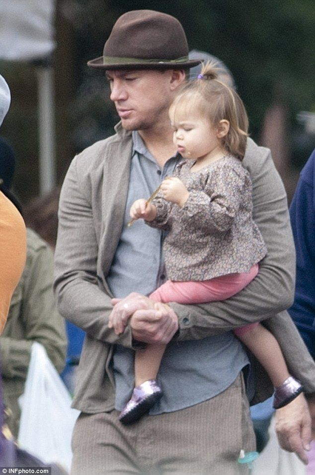 Channing Tatum Baby everly tatum and chann...
