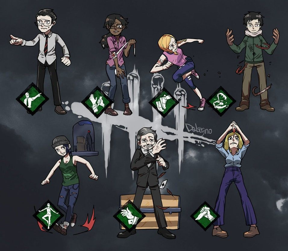 Pin by TheAmbroza on Dead By Daylight Gry wideo, Dysk