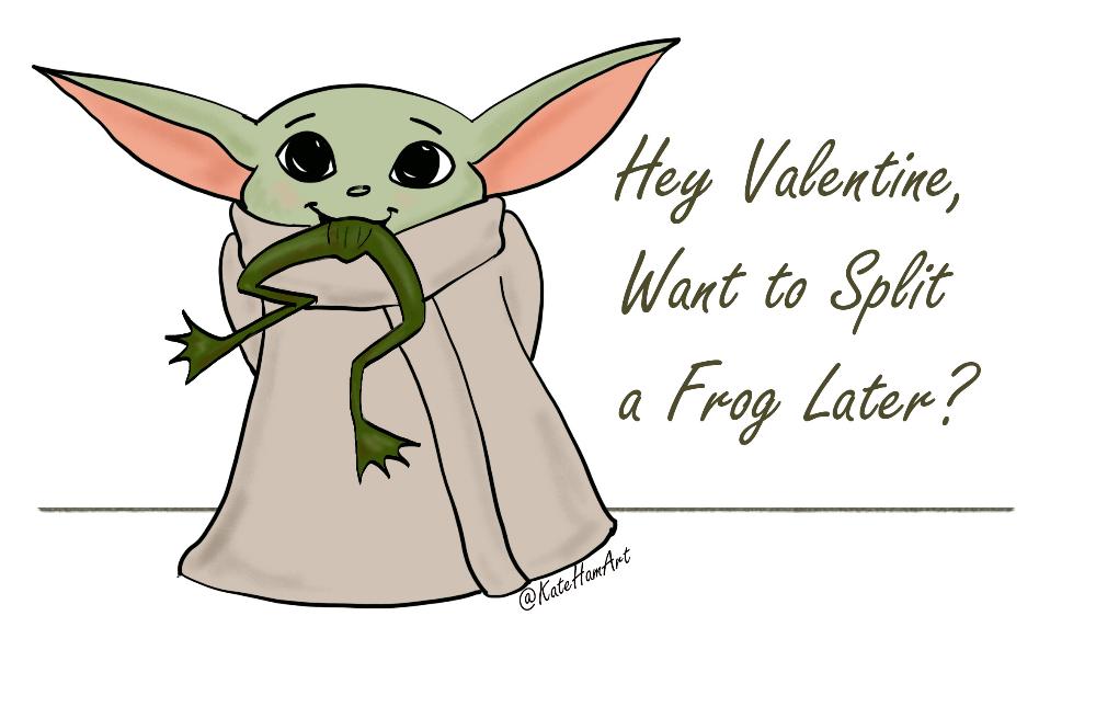 Baby Yoda Printable Valentine S Day Cards Instant Download Yoda Valentine Cards Valentines Printables Free Valentines Printables