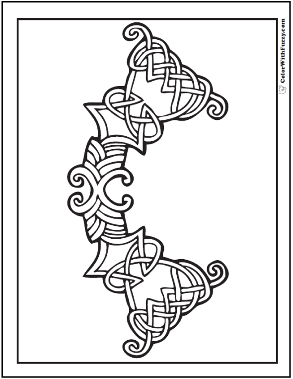 Fuzzy's Celtic Knot Designs: Small Celtic Knots Designs