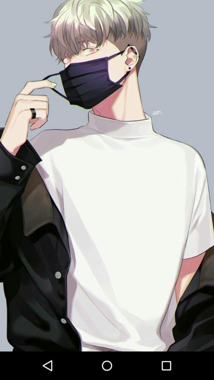 Pin By Jelly Gmer2 On Boys White Hair Anime Guy Anime Drawings Boy Anime Fanart