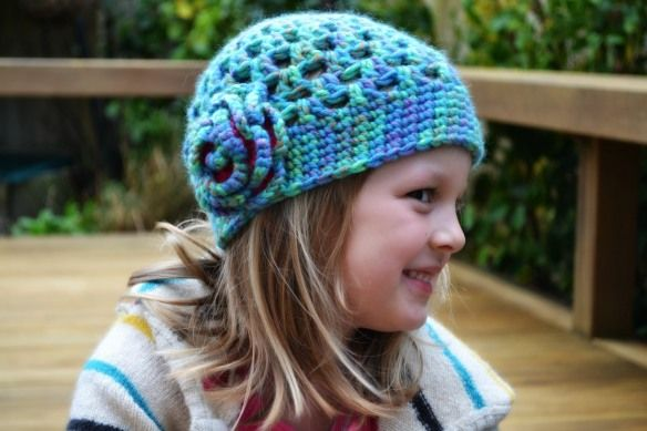 Crochet Hat - from The Green Dragonfly