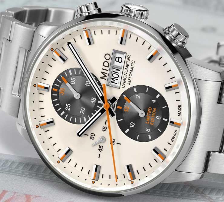 b37e29732b1 Mido Commander Chronometer limited Edition