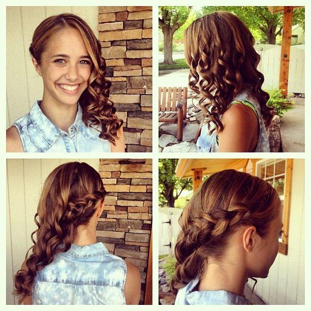 Gorgeous 8th Grade Graduation Hair Hair Graduation