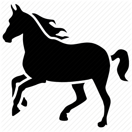 Horse Animal Icon Download On Iconfinder On Iconfinder Animal Icon Animals Animal Categories