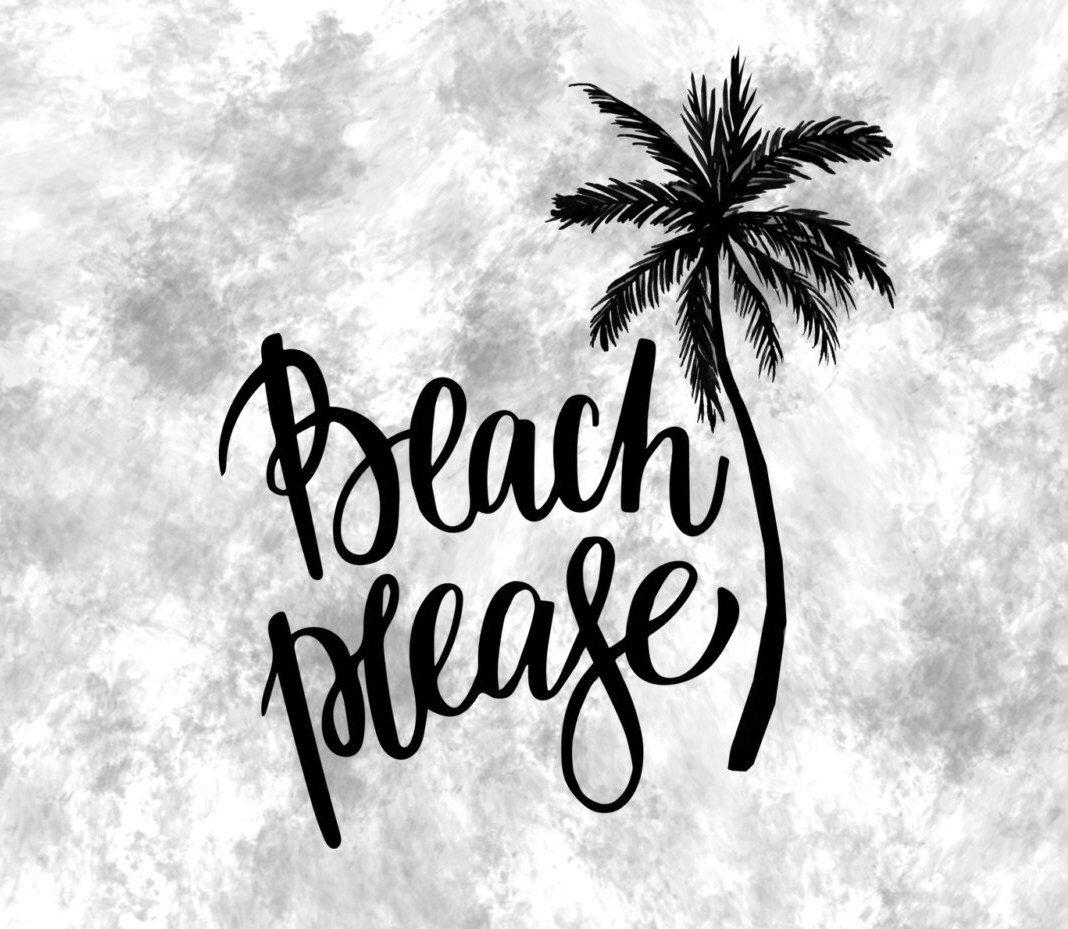 Beach Please Decal Beach Decal Beach Life Decal Beach Please