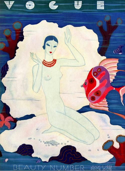 July 1933. Illustration: Eduardo Garcia Benito.