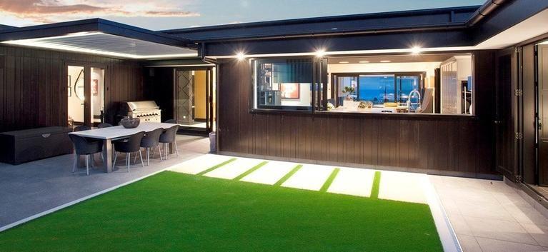 Deck Roofing Options Retractable Roof For Patio Louvretec Au Louvretec Australia In 2020 Outdoor Blinds Unique Outdoor Spaces Custom Window Blinds