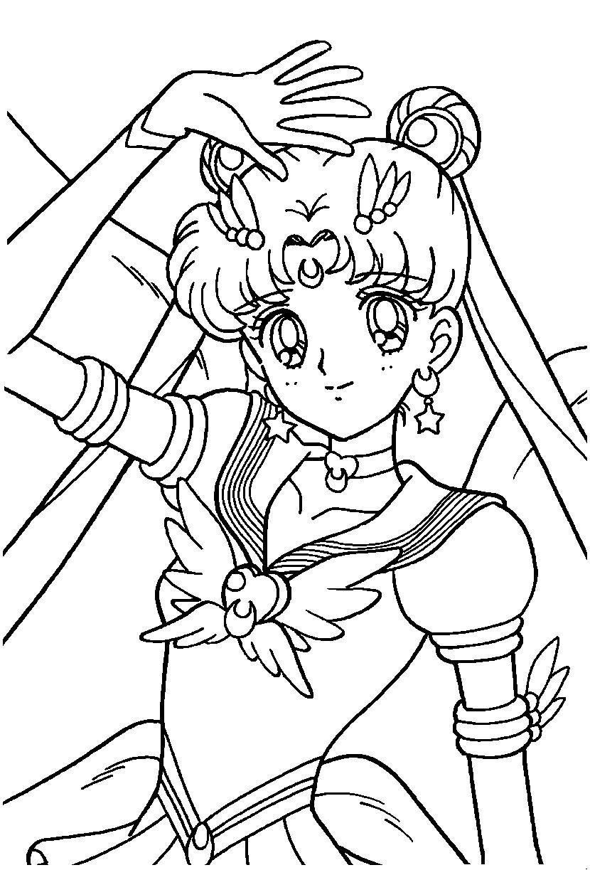Coloriage Manga A Colorier Dessin A Imprimer Sailor Moon