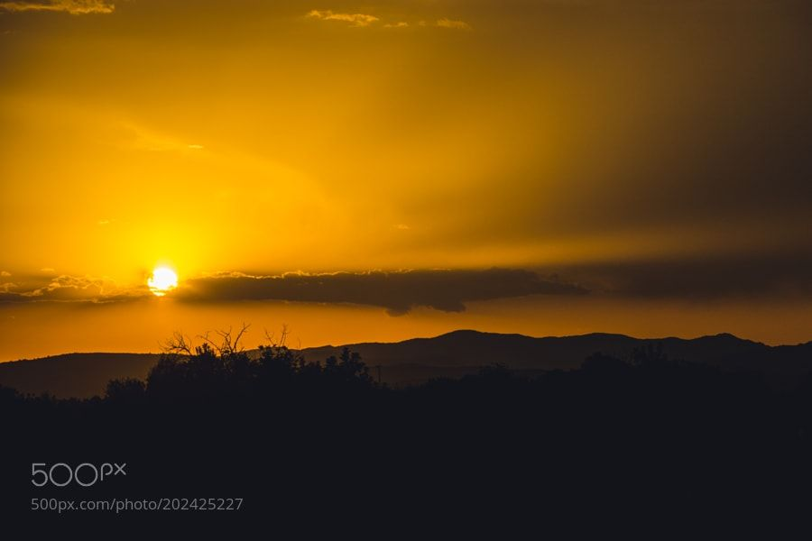 http://ift.tt/2jr6Zkd #Nature_breathtaking #Photos Sunset over hills by whiteshipdesign