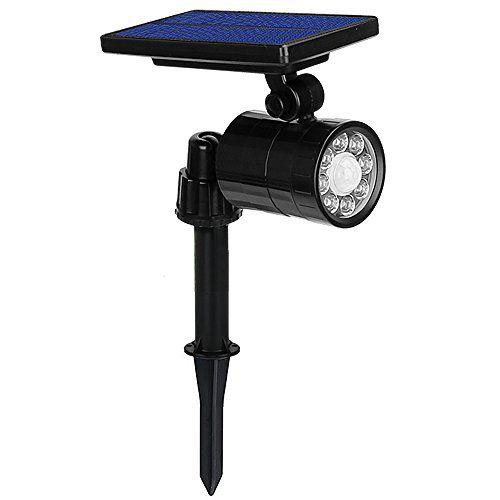 Lampe Solaire A 8 Led 800 Lumens Ultra Puissante Eclairage Exterieur