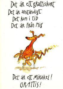 grattiskort roliga texter Sven Nordqvist / grattiskort | Gifts | Pinterest | Happy birthday  grattiskort roliga texter