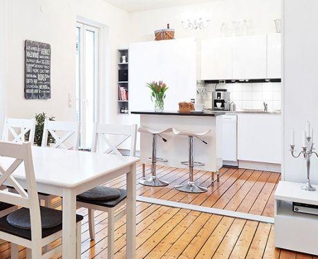 Decorar una cocina abierta decorando en 2019 cocinas for Cocina abierta en salon area pequena