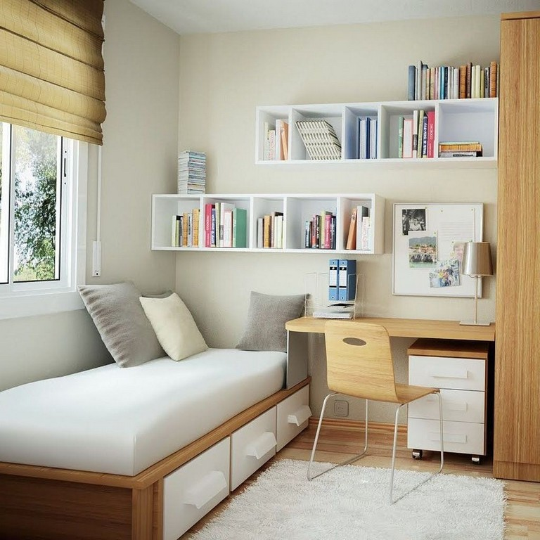 40+ Cool Tiny Bedrooms Design Ideas With Huge Style
