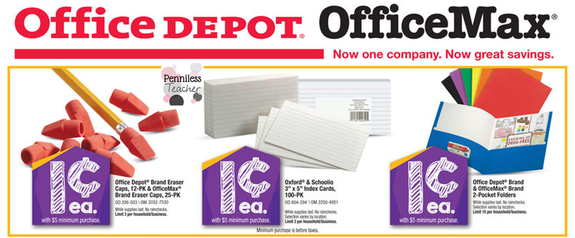 Office Depot/Max Back-to-School (X 7/12/14)