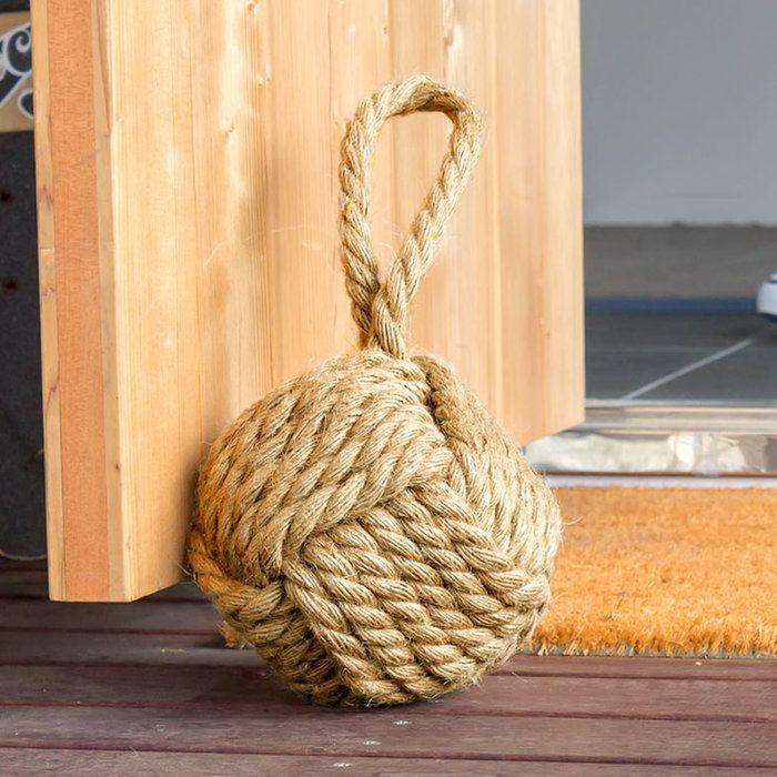 ジュートロープのドアストッパー 65311 ドアストッパー ロープ