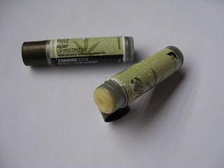 The body shop hemp lip protector ... ,my favorite lip balm since 2004