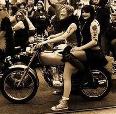 Biker lesbians