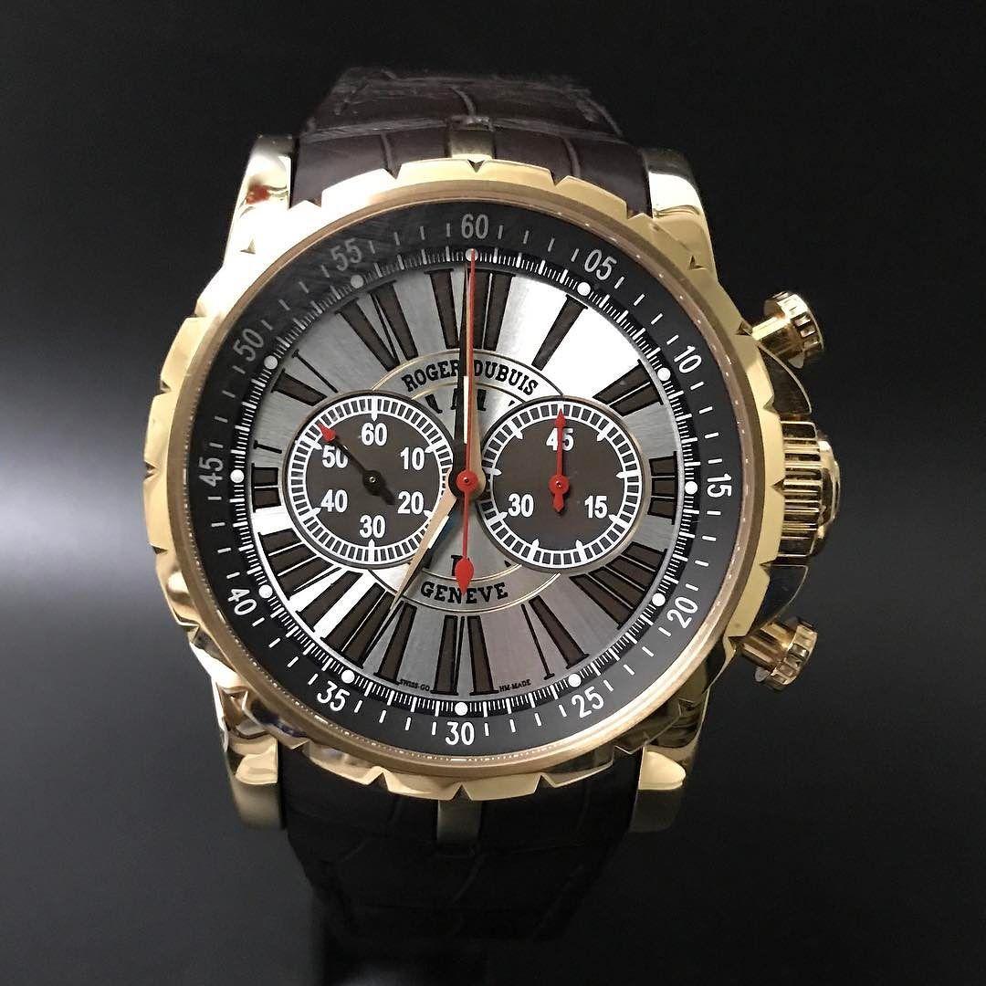 Roger Dubuis Excalibur Chronograph Rose Gold. #watchporn #watchmania #wristwatch #watchoftheday #timepiece #secondhand #instawatch #secondoriginalwatch #jamtanganseken #preownedwatch #luxurywatch. www.mulialegacy.com