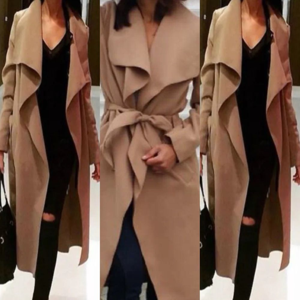 coat in camel