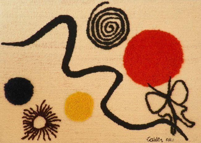Tapestry After Alexander Calder