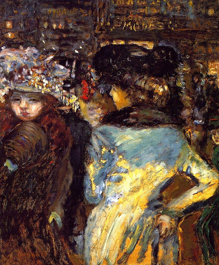 Deux elegantes, Place de Clichy / Pierre Bonnard - 1905