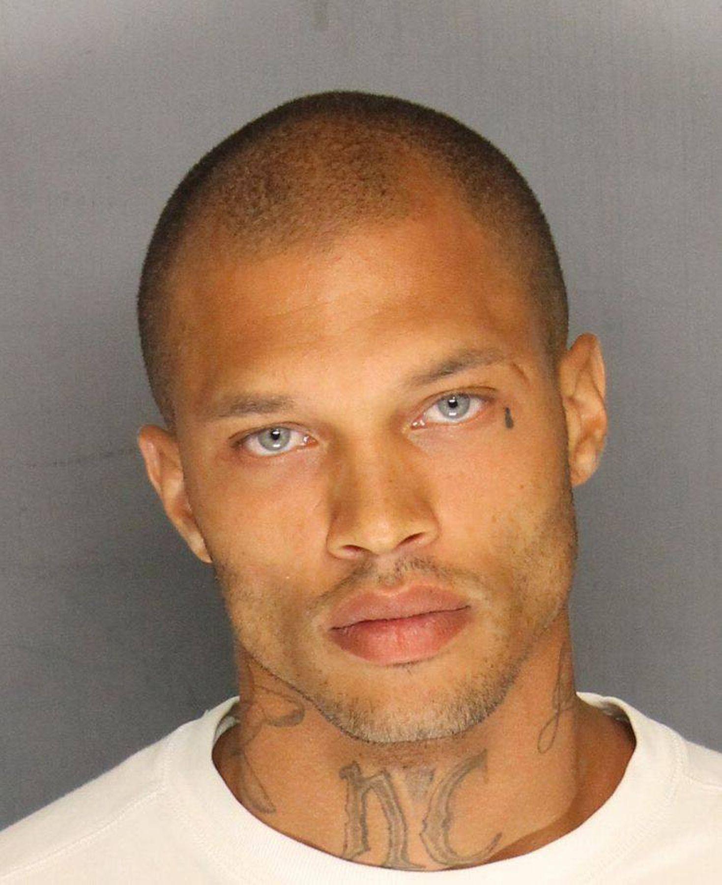 Best Mugshot EVER Nathan Henson was arrested 5 months ago on