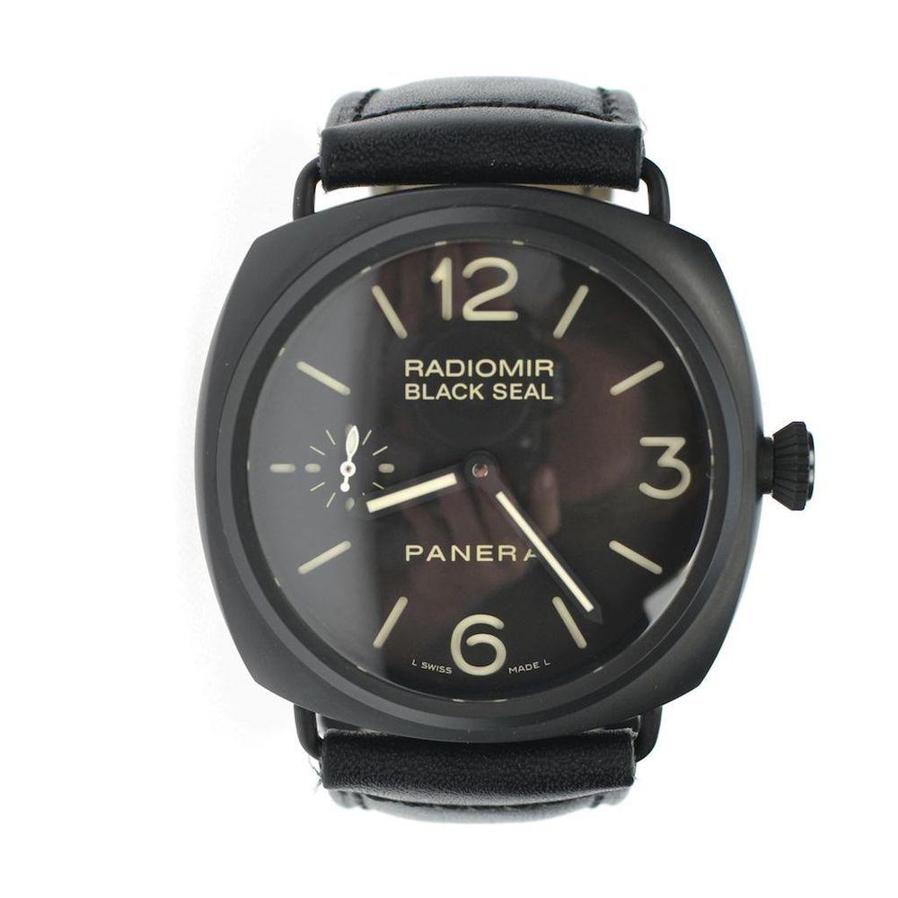 Panerai Radiomir Black Seal Ceramic Torpedo Watch Pre-owned Authentic #OfficinePanerai #LuxuryDressStyles