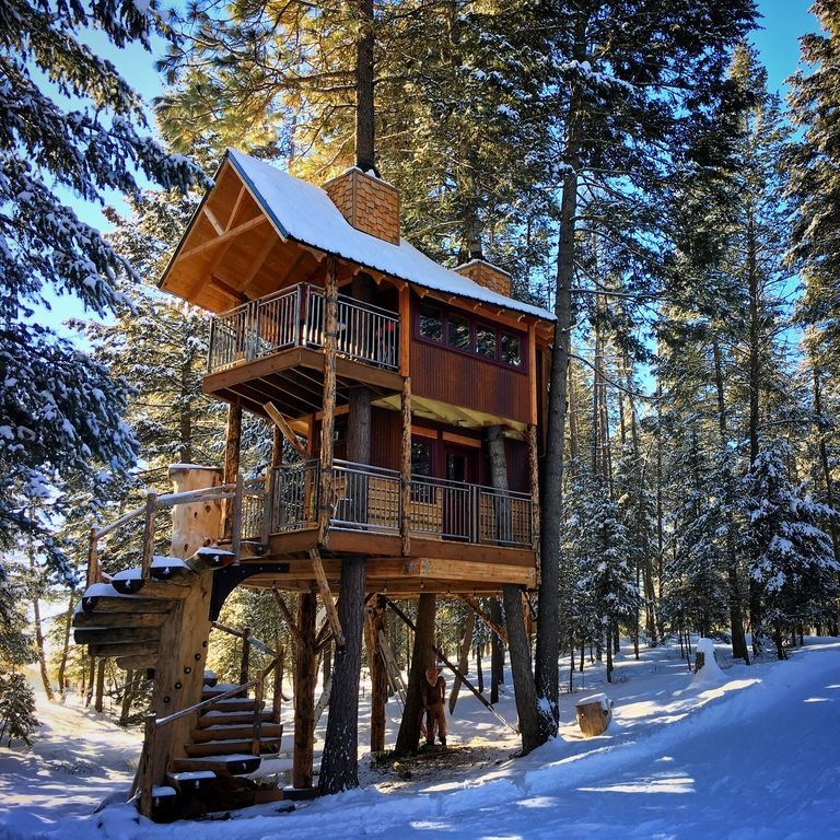 Find Rent Houses: Montana Tree House Close To The Glacier National Park