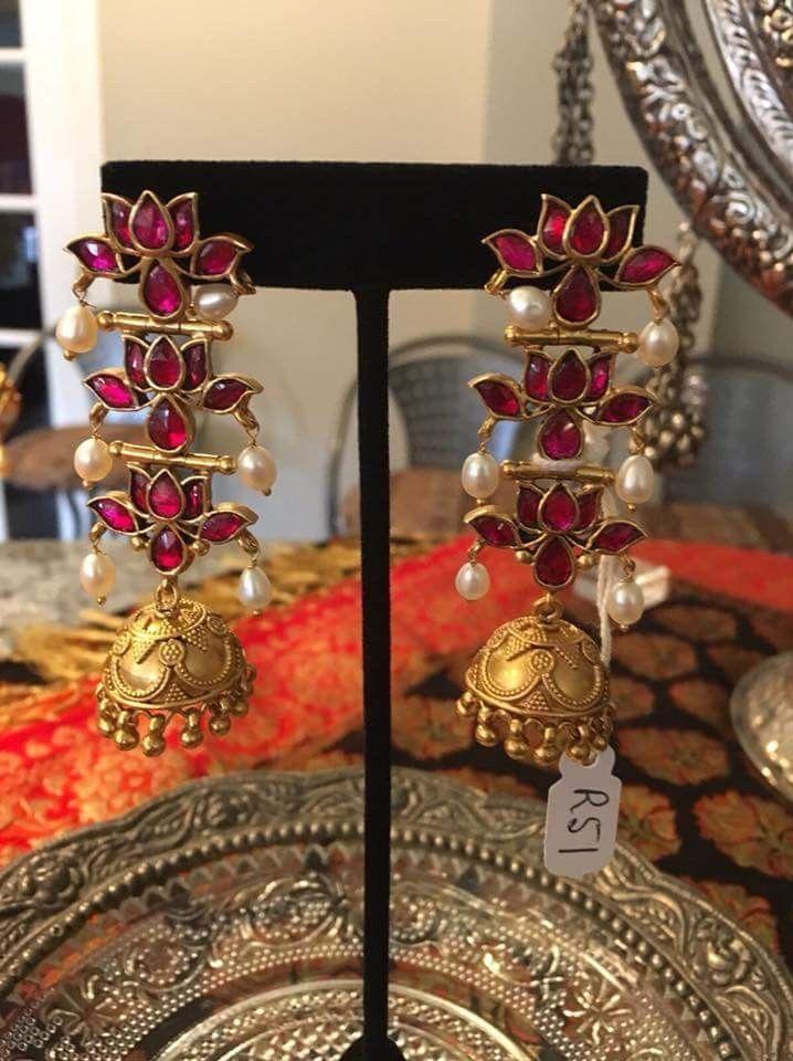 Ear Rings Ear Rings In 2019 Gold Earrings Designs