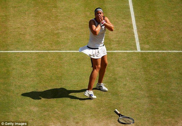 The moment she realised: Bartoli has avenged her 2007 defeat to Venus Williams