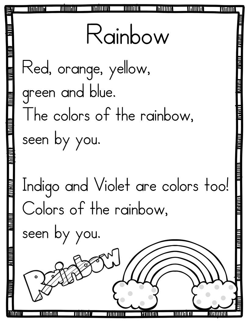 Spring Poems for Shared Reading Beginning Readers   Poem with ...