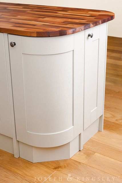 Best Curved Base Cabinets Handpainted In Mizzle From Our 400 x 300